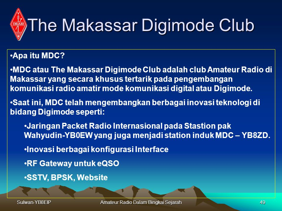 The Makassar Digimode Club