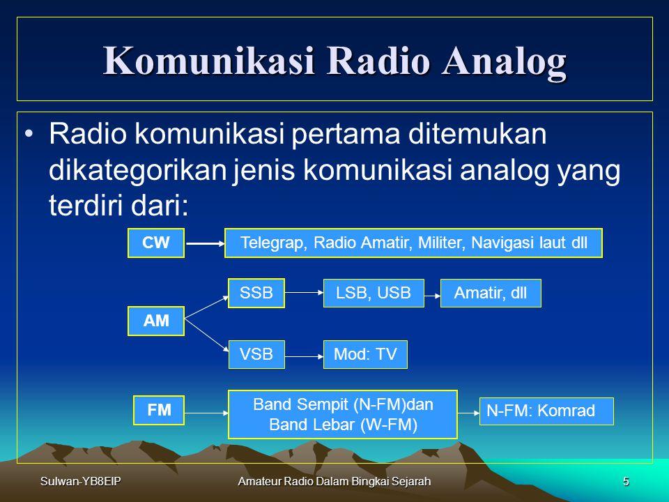 Komunikasi Radio Analog