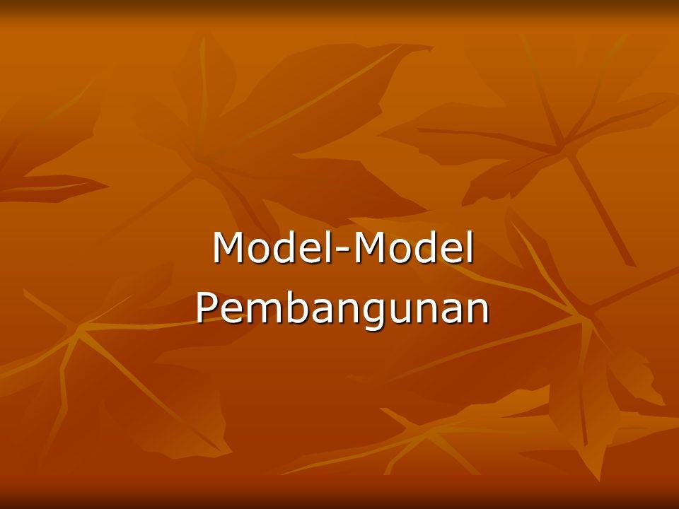 Model-Model Pembangunan