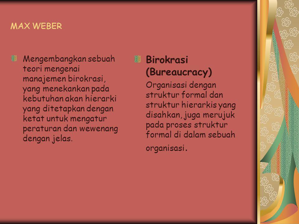 Birokrasi (Bureaucracy)