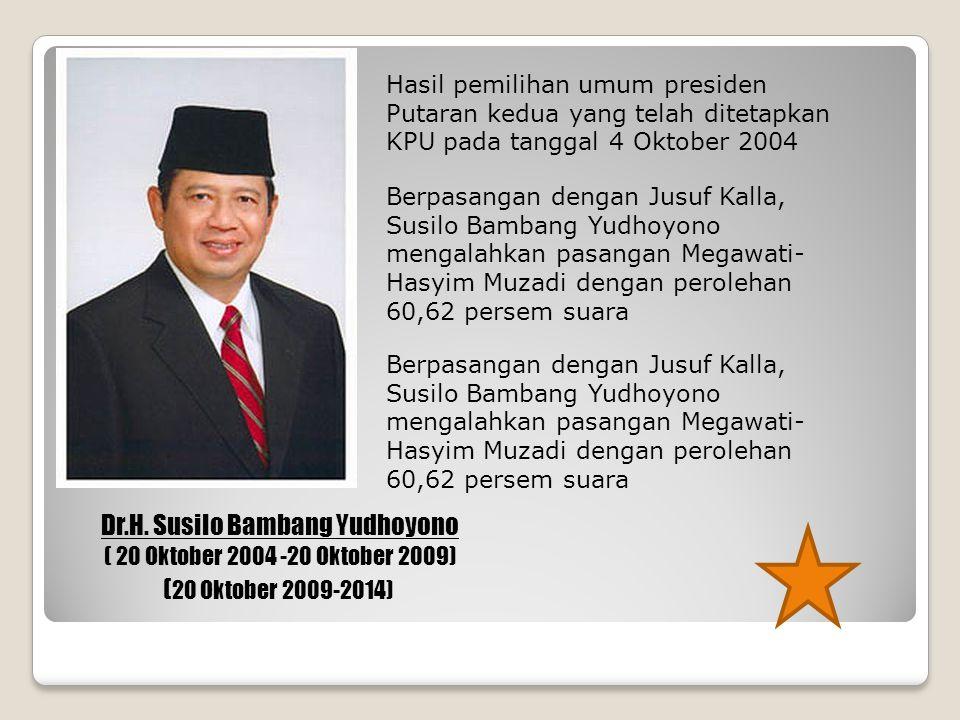 Dr.H. Susilo Bambang Yudhoyono