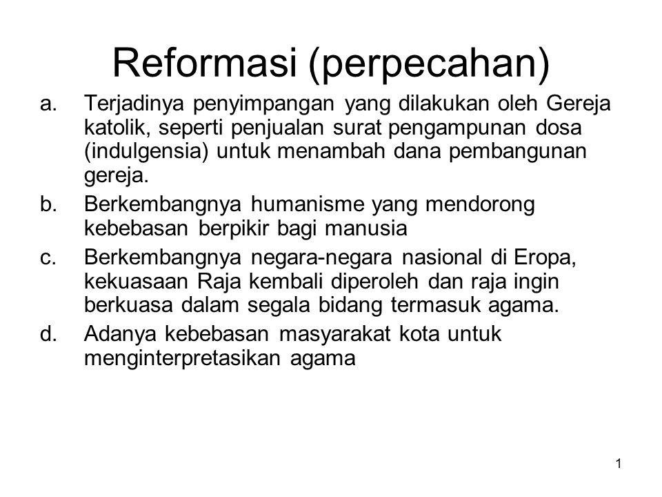 Reformasi (perpecahan)