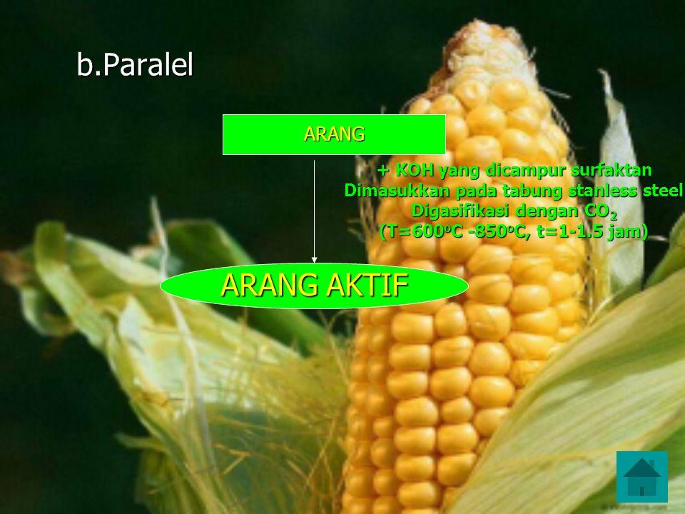 b.Paralel ARANG AKTIF ARANG