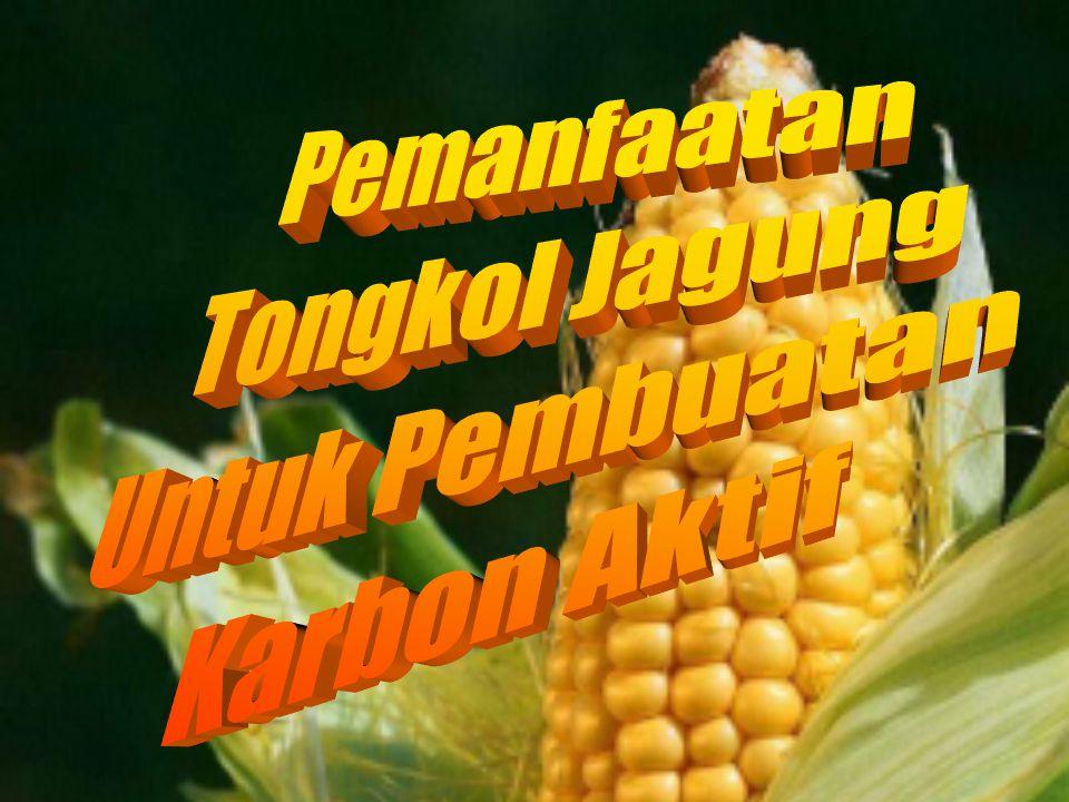 Pemanfaatan Tongkol Jagung Untuk Pembuatan Karbon Aktif
