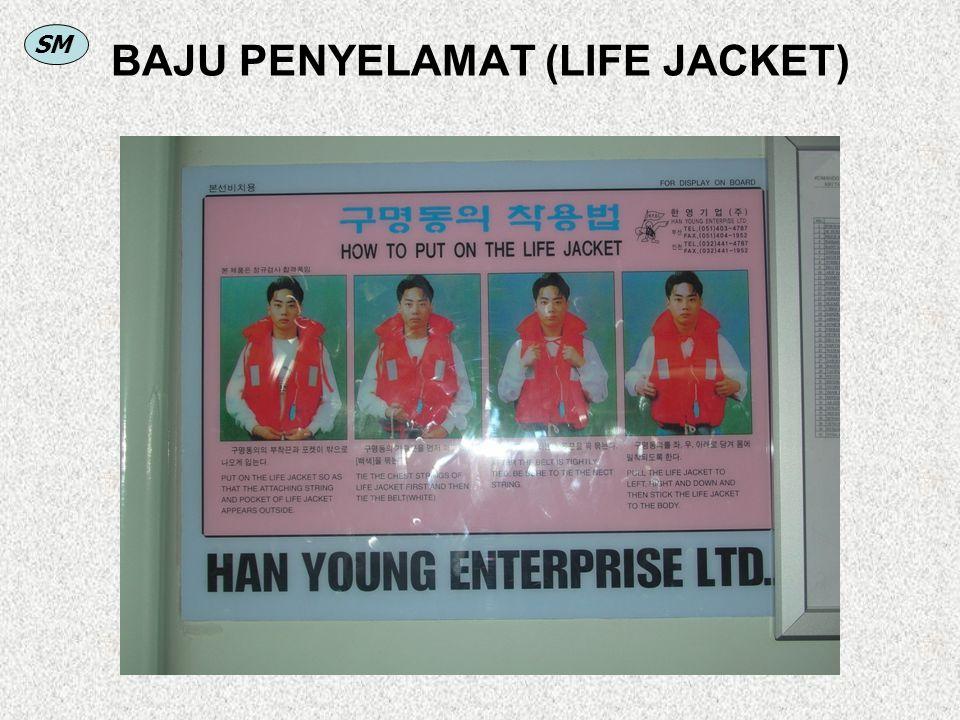 BAJU PENYELAMAT (LIFE JACKET)