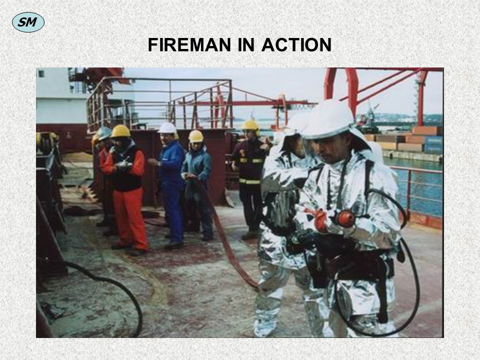 FIREMAN IN ACTION