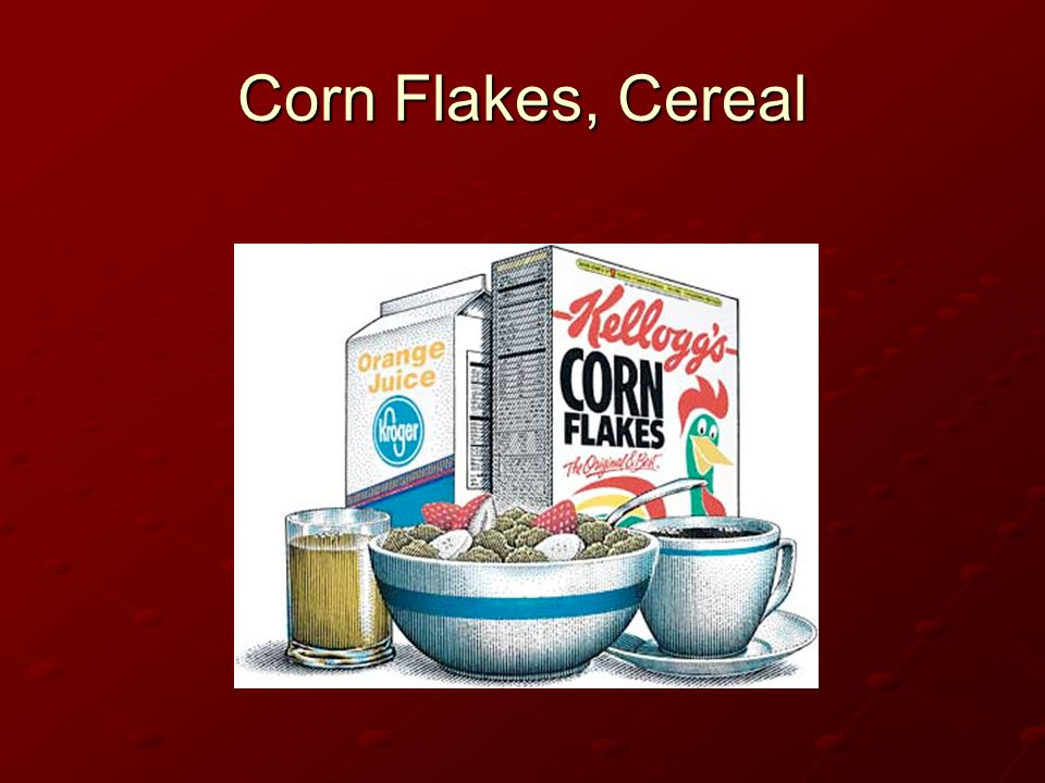 Corn Flakes, Cereal