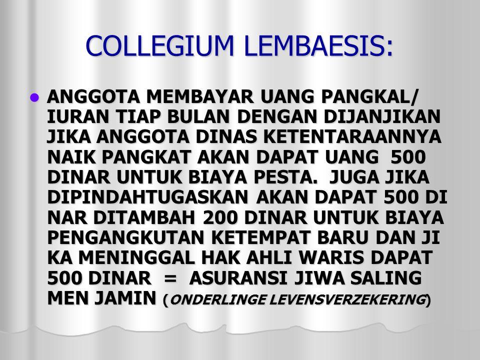 COLLEGIUM LEMBAESIS: