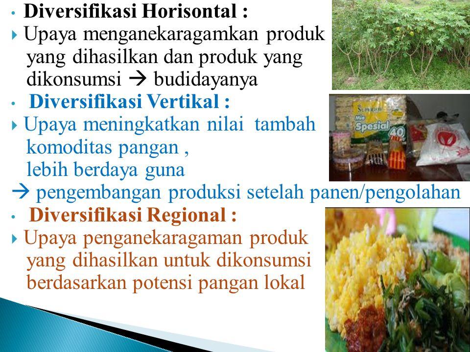 Diversifikasi Horisontal :