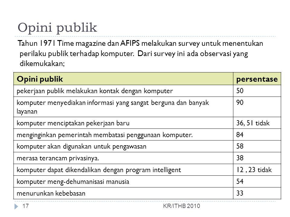 Opini publik