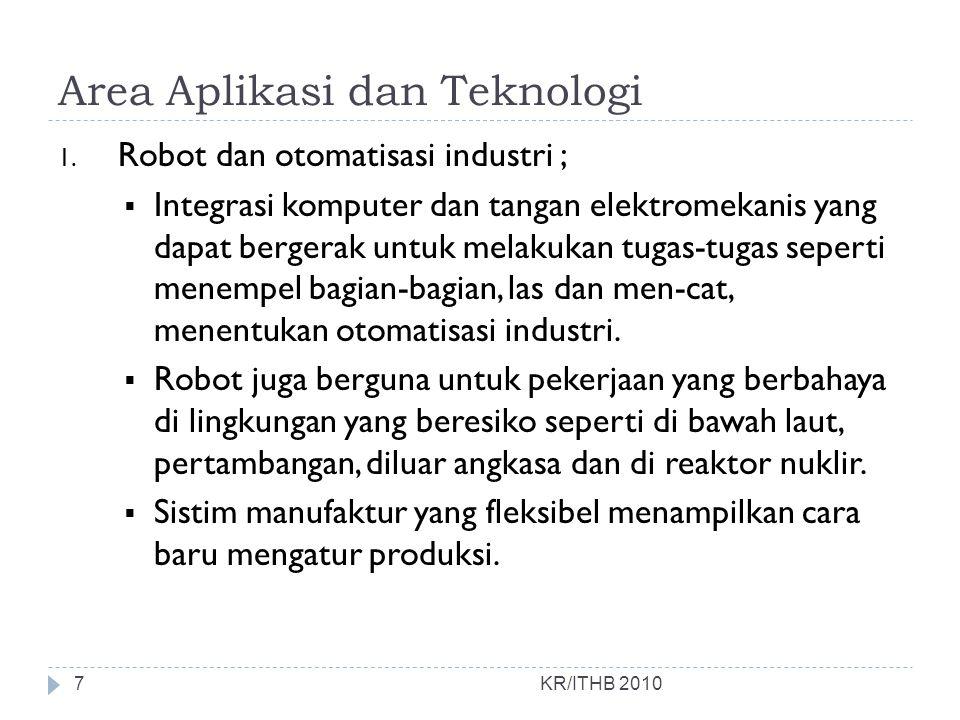 Area Aplikasi dan Teknologi