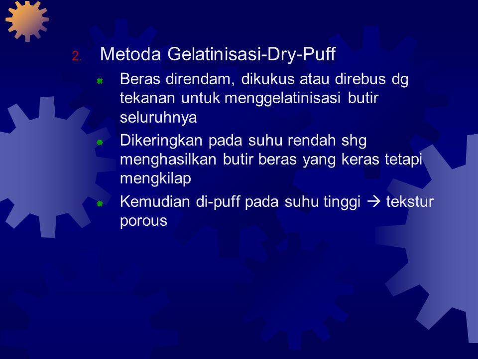 Metoda Gelatinisasi-Dry-Puff