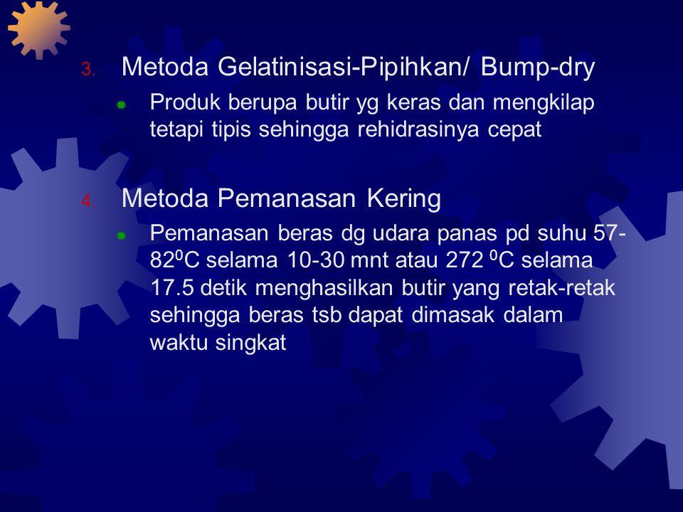 Metoda Gelatinisasi-Pipihkan/ Bump-dry