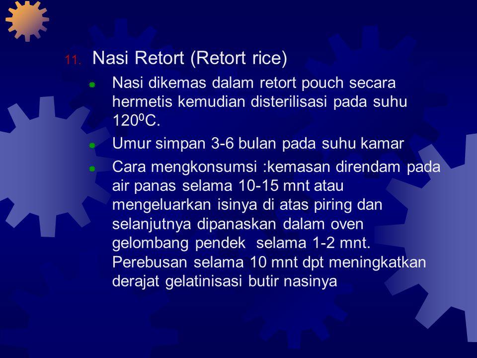Nasi Retort (Retort rice)