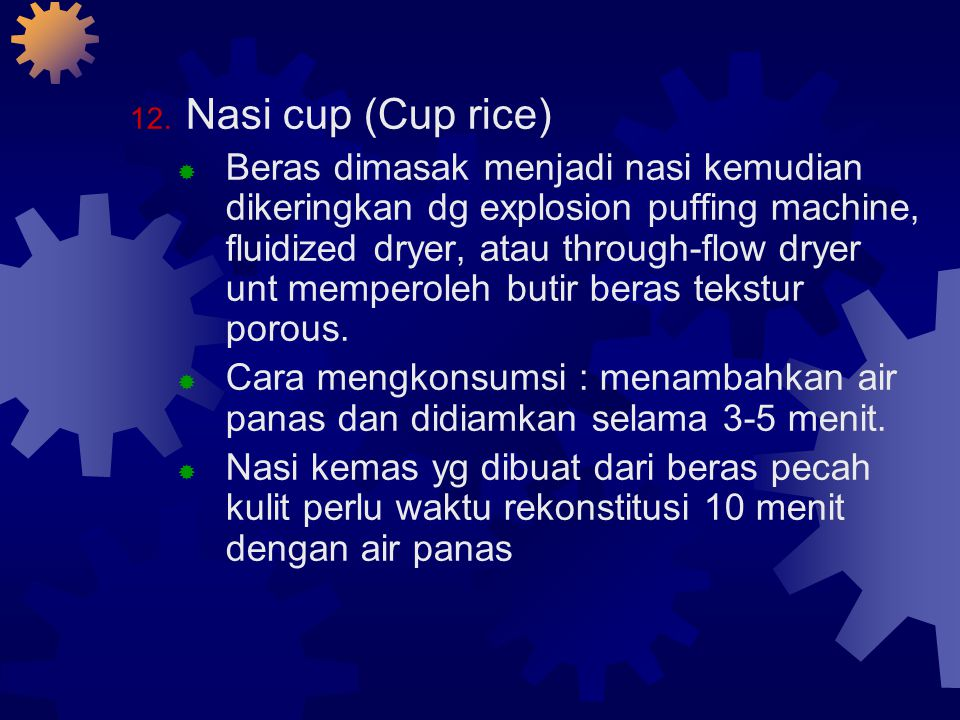 Nasi cup (Cup rice)