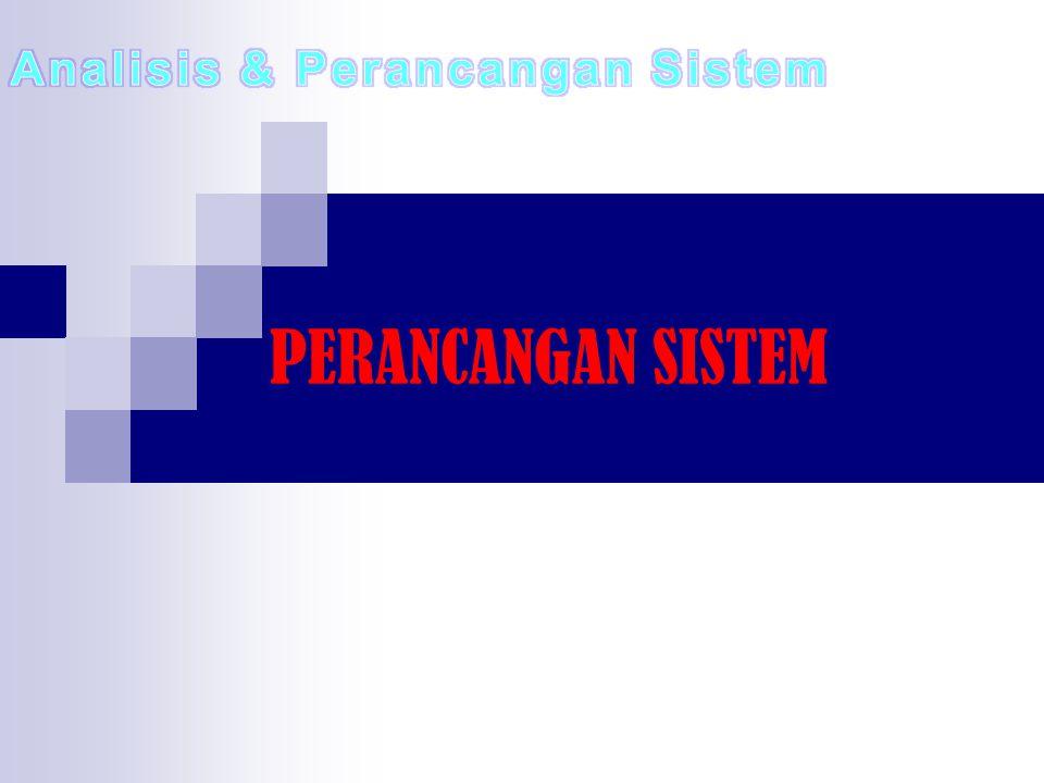 Analisis & Perancangan Sistem