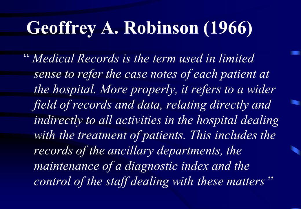 Geoffrey A. Robinson (1966)