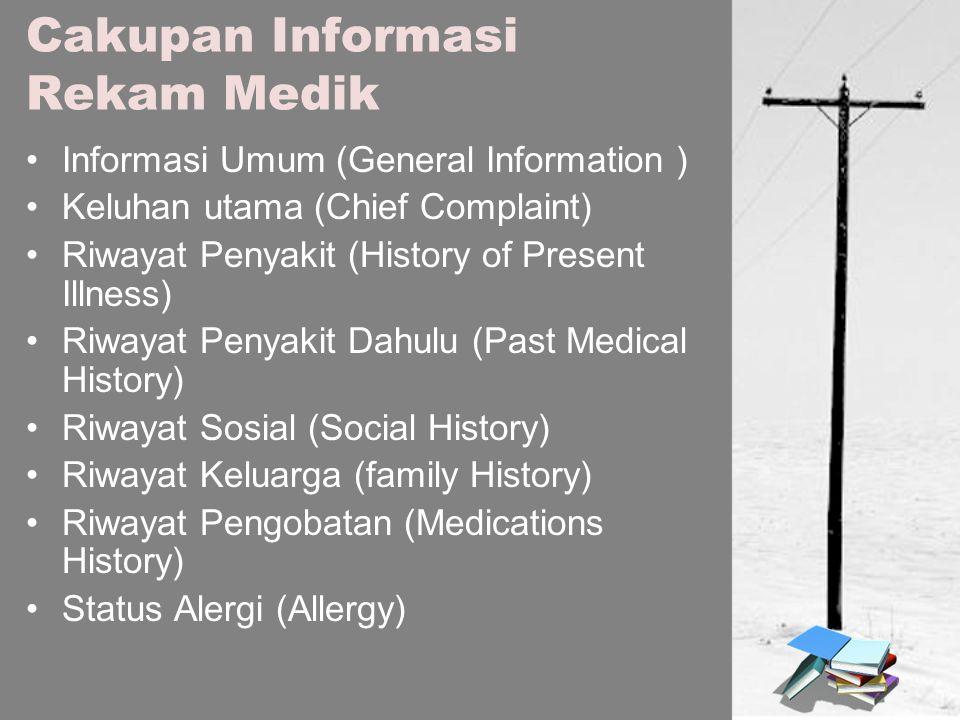 Cakupan Informasi Rekam Medik