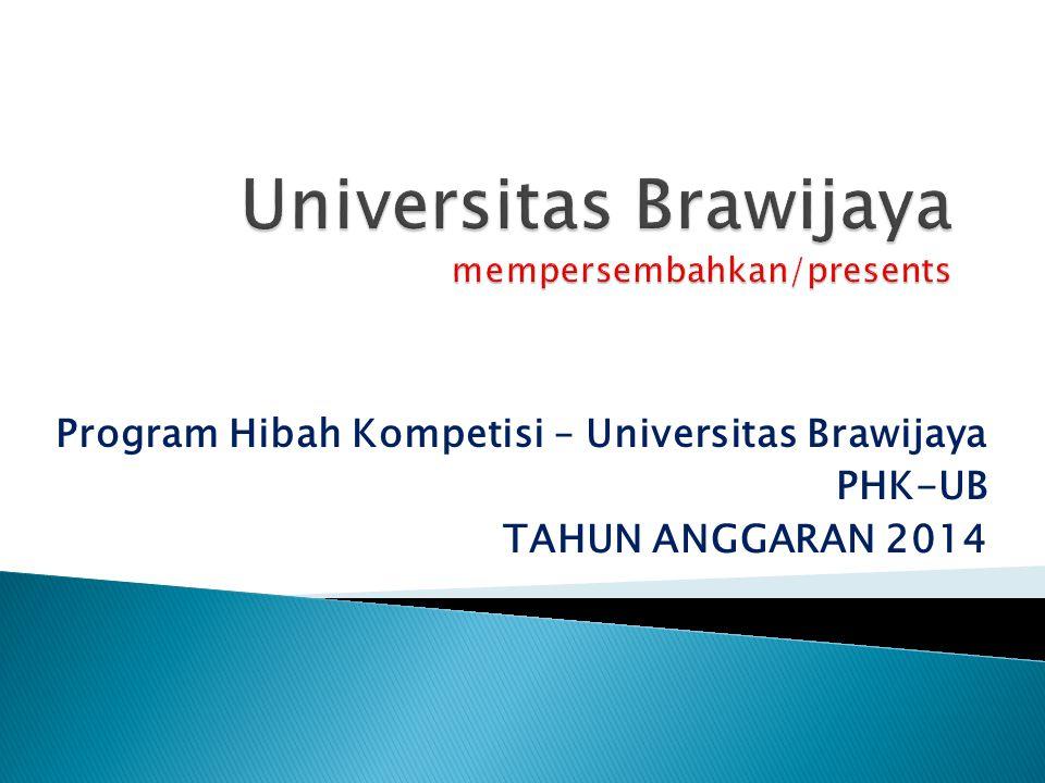 Universitas Brawijaya mempersembahkan/presents