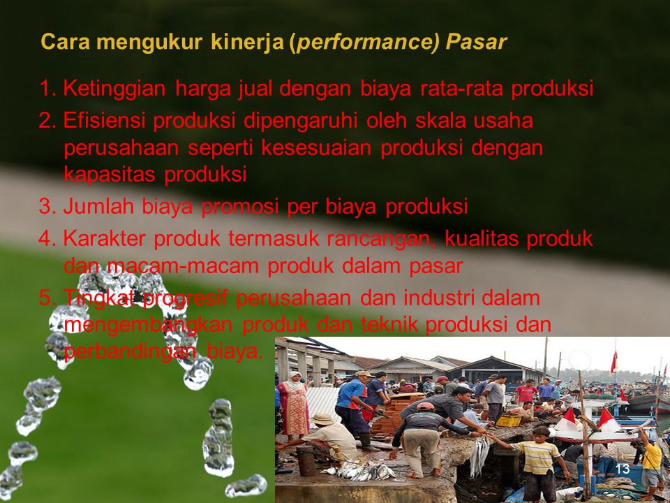 Cara mengukur kinerja (performance) Pasar