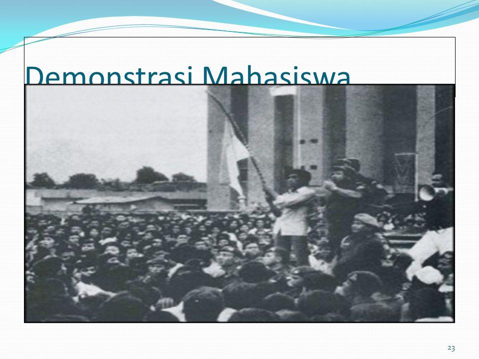 Demonstrasi Mahasiswa