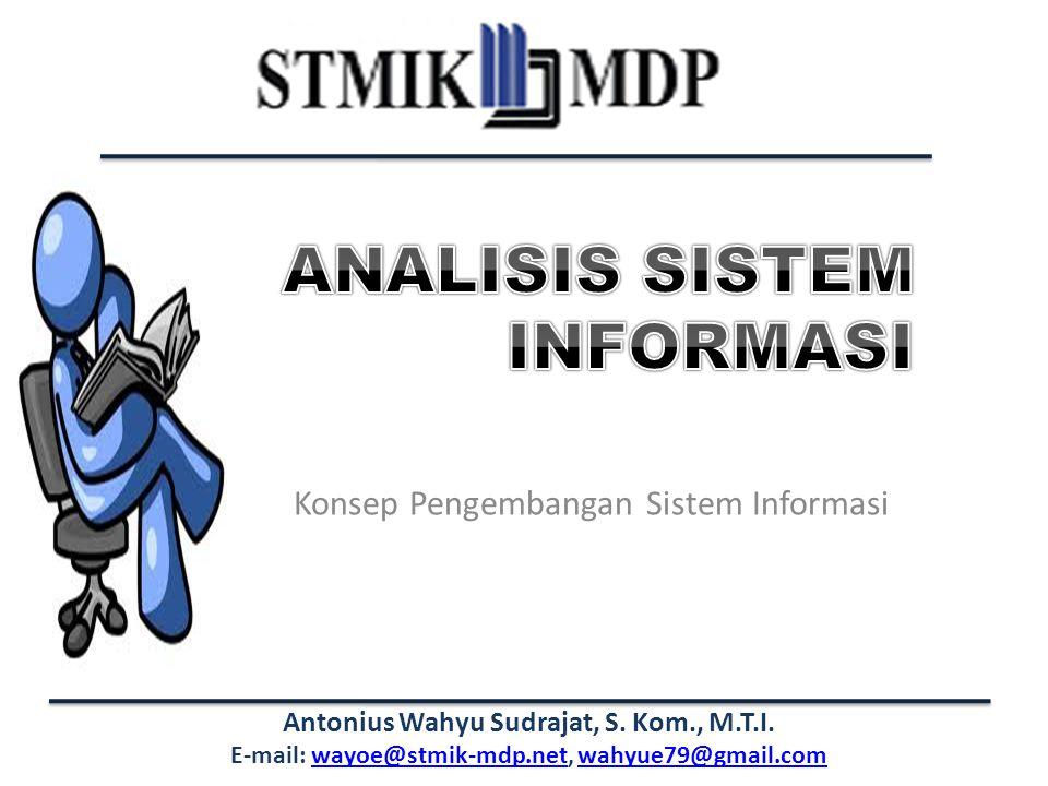 Konsep Pengembangan Sistem Informasi