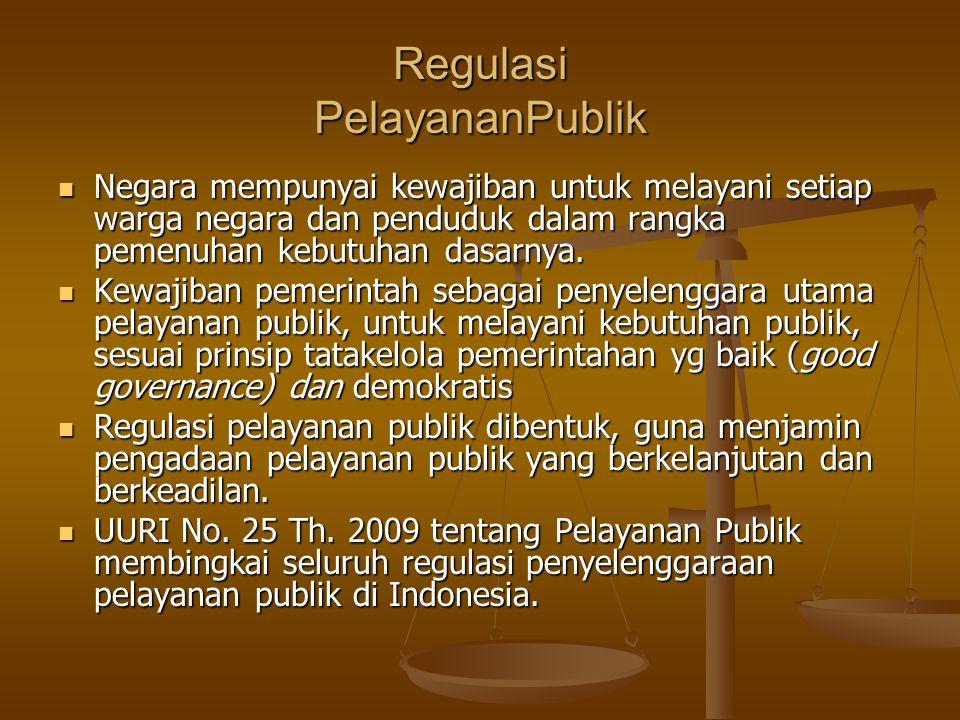 Regulasi PelayananPublik