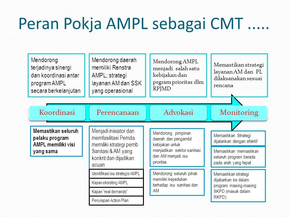 Peran Pokja AMPL sebagai CMT .....