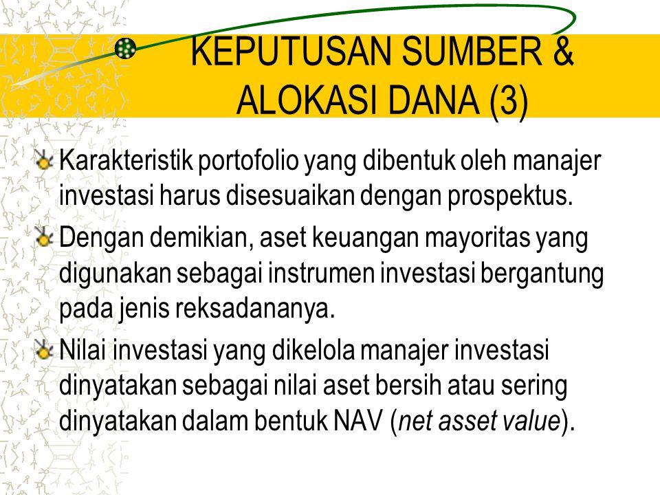 KEPUTUSAN SUMBER & ALOKASI DANA (3)