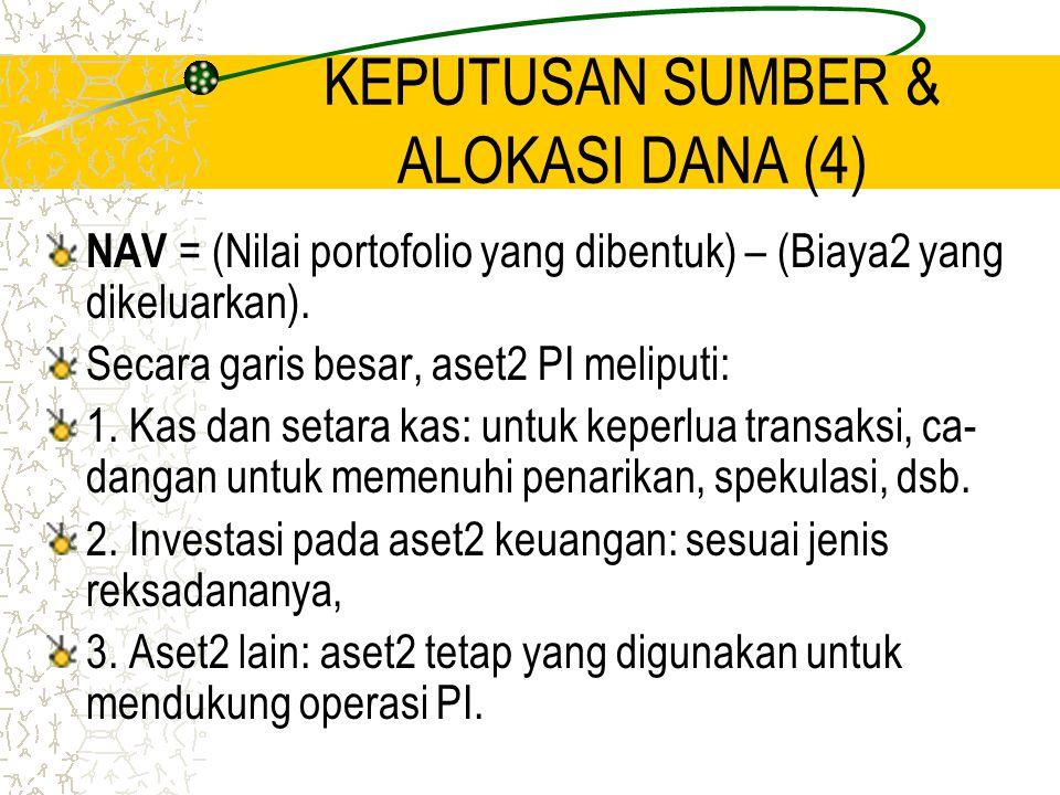 KEPUTUSAN SUMBER & ALOKASI DANA (4)