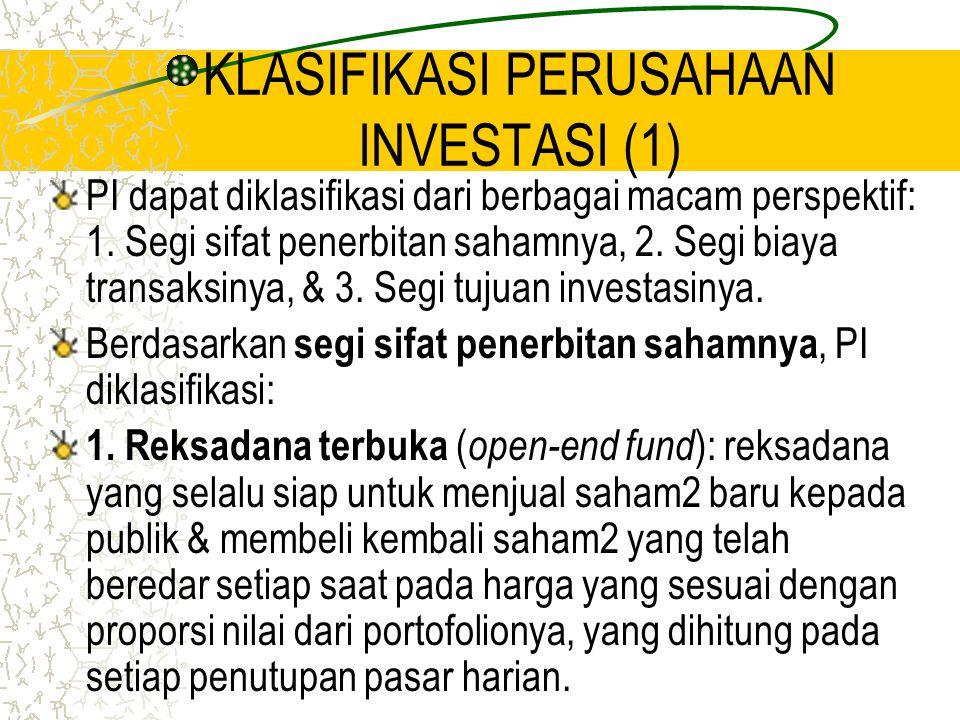 KLASIFIKASI PERUSAHAAN INVESTASI (1)