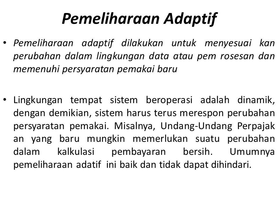 Pemeliharaan Adaptif