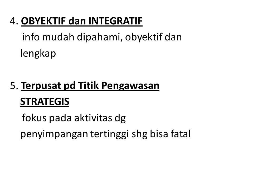 4. OBYEKTIF dan INTEGRATIF