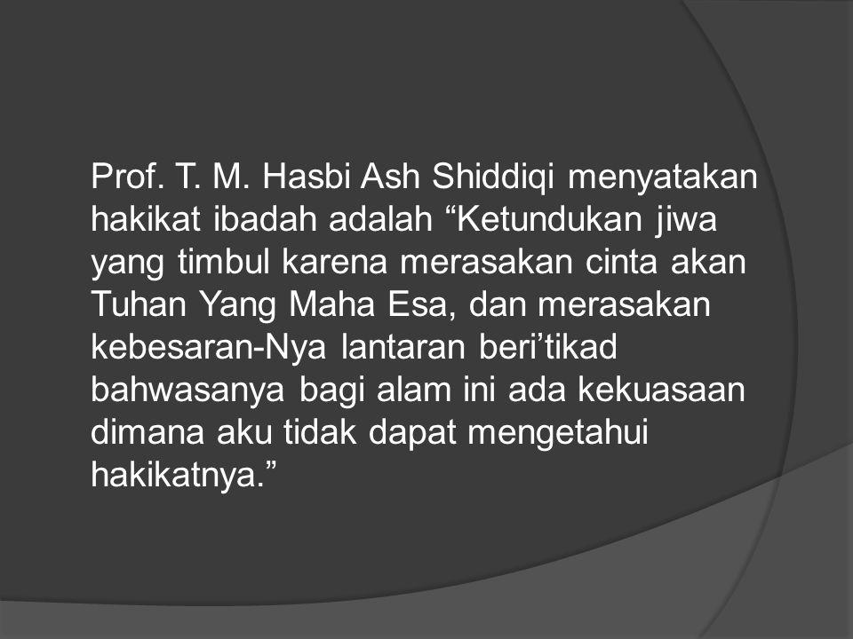 Prof. T. M.