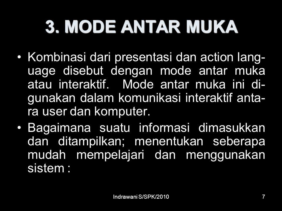 3. MODE ANTAR MUKA