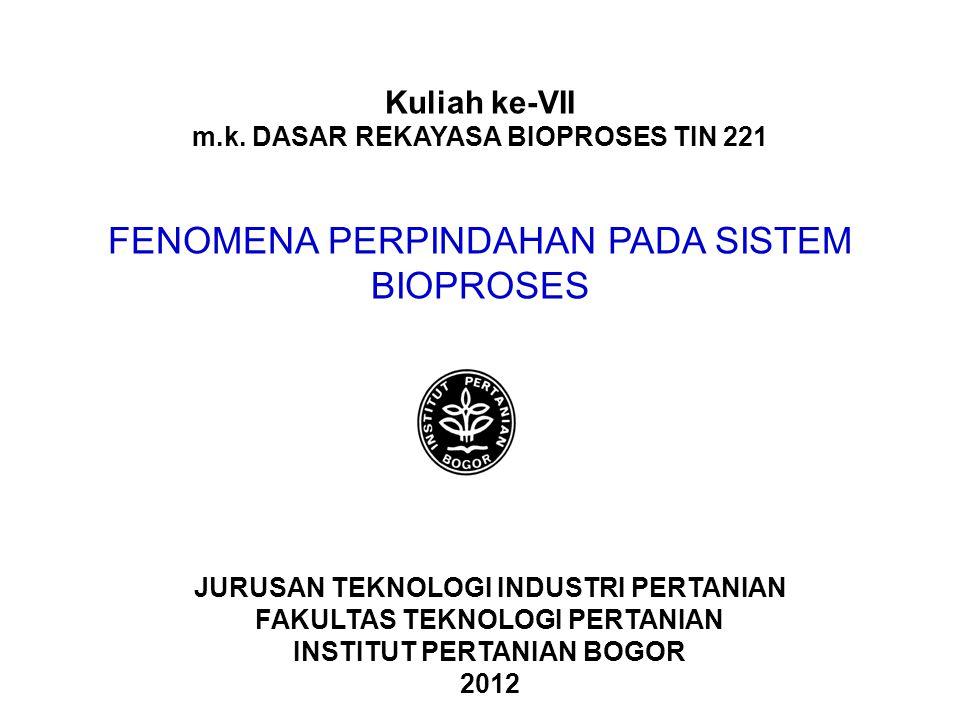 m.k. DASAR REKAYASA BIOPROSES TIN 221