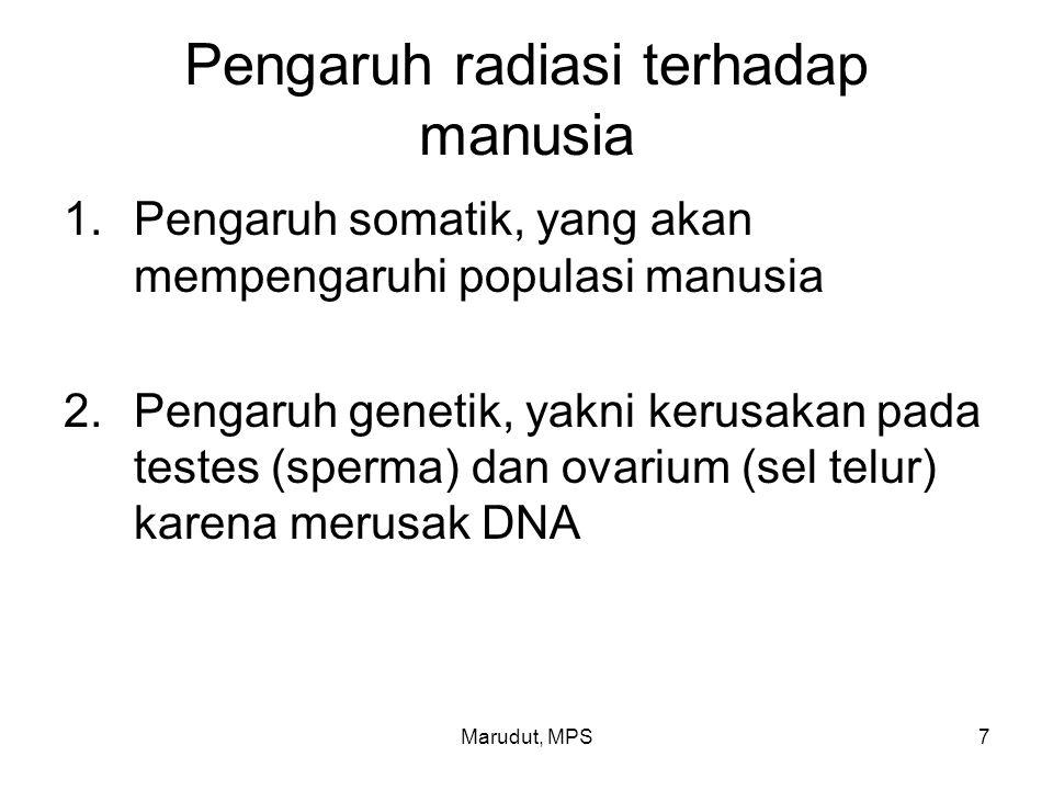 Pengaruh radiasi terhadap manusia