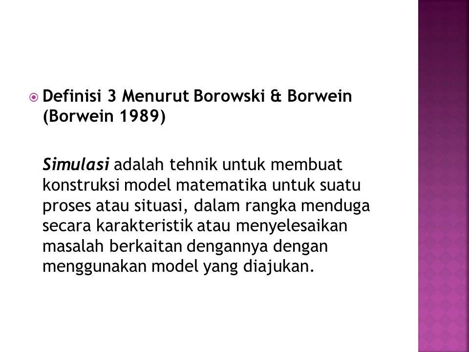 Definisi 3 Menurut Borowski & Borwein (Borwein 1989)