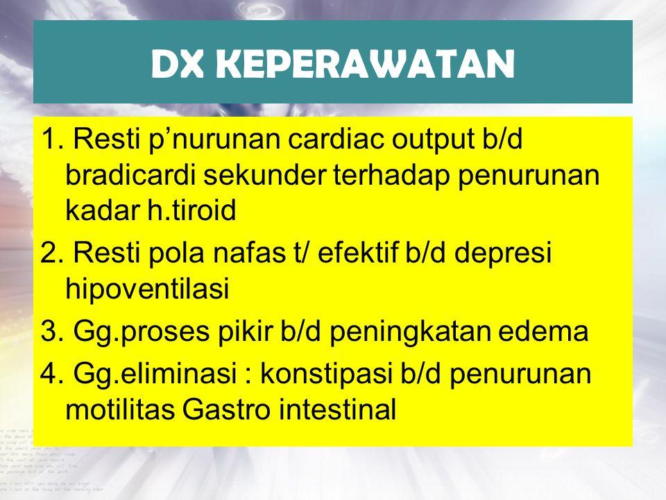 DX KEPERAWATAN
