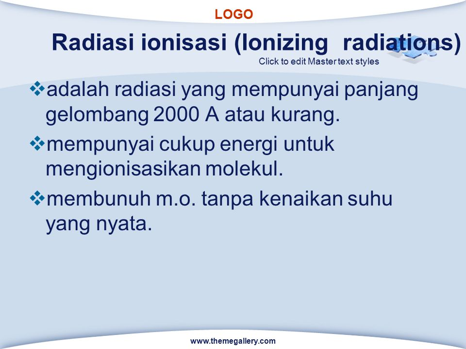 Radiasi ionisasi (Ionizing radiations)