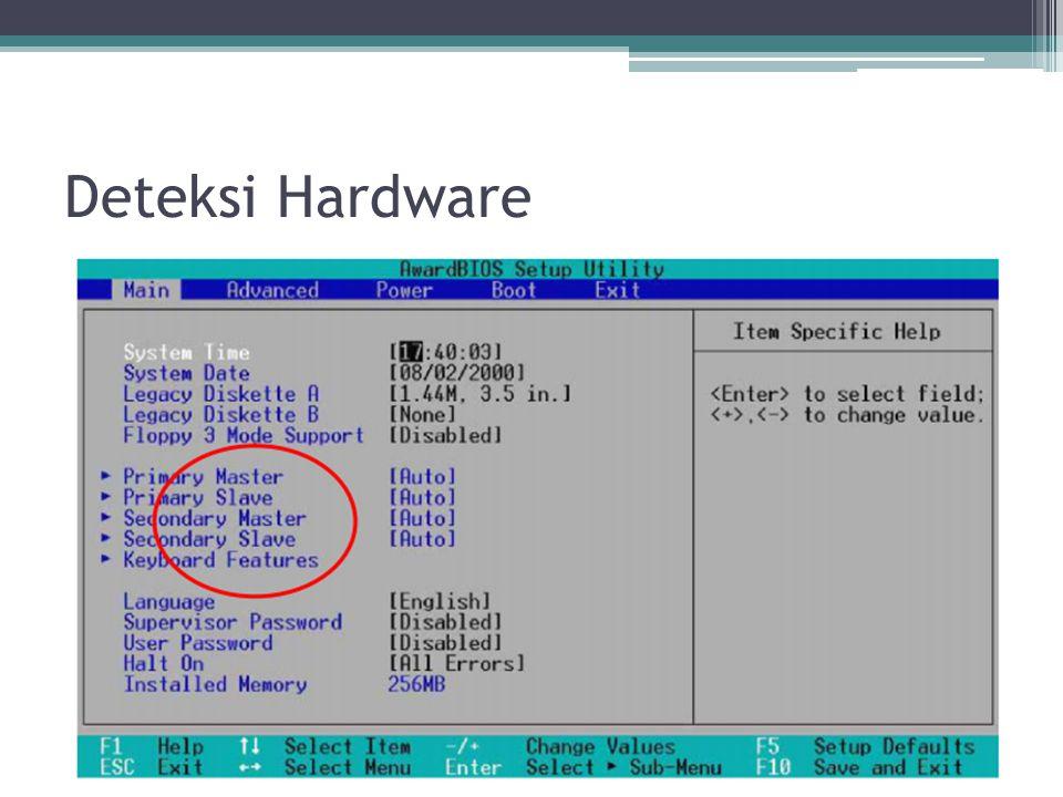 Deteksi Hardware