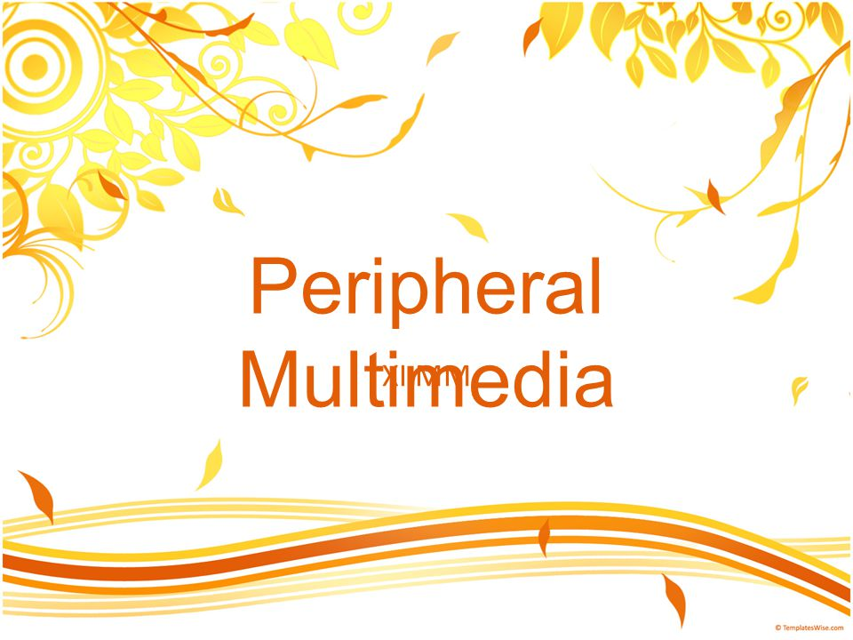 Peripheral Multimedia