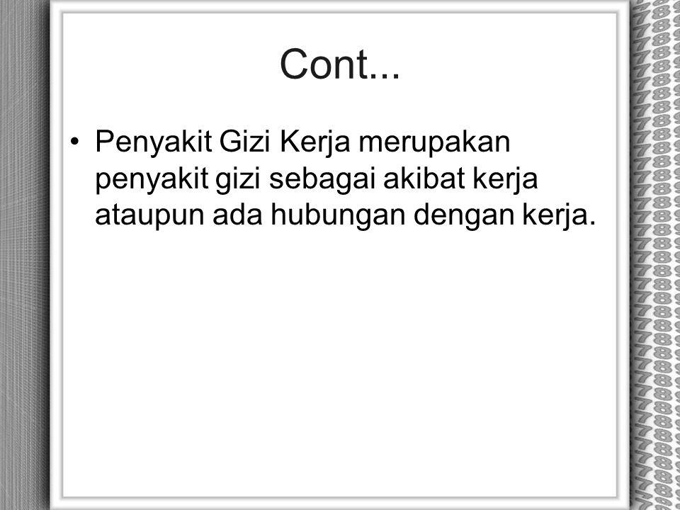 Cont...