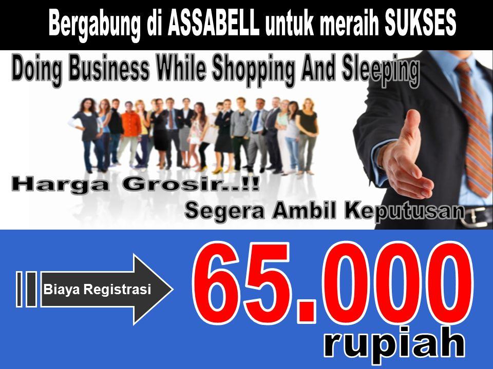 65.000 Bergabung di ASSABELL untuk meraih SUKSES