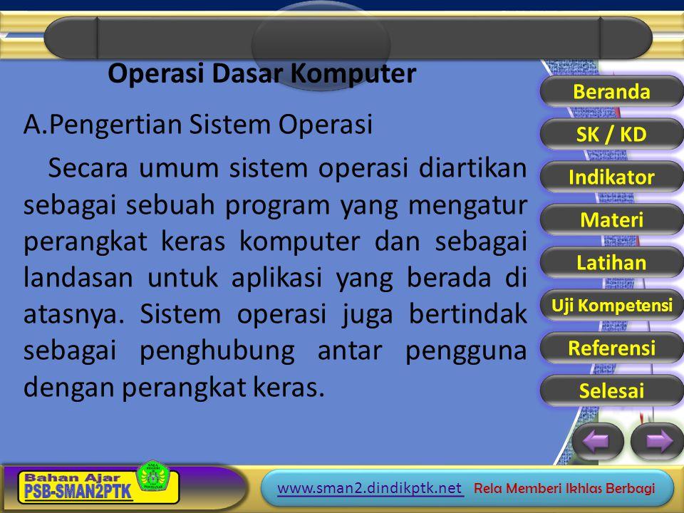 Operasi Dasar Komputer