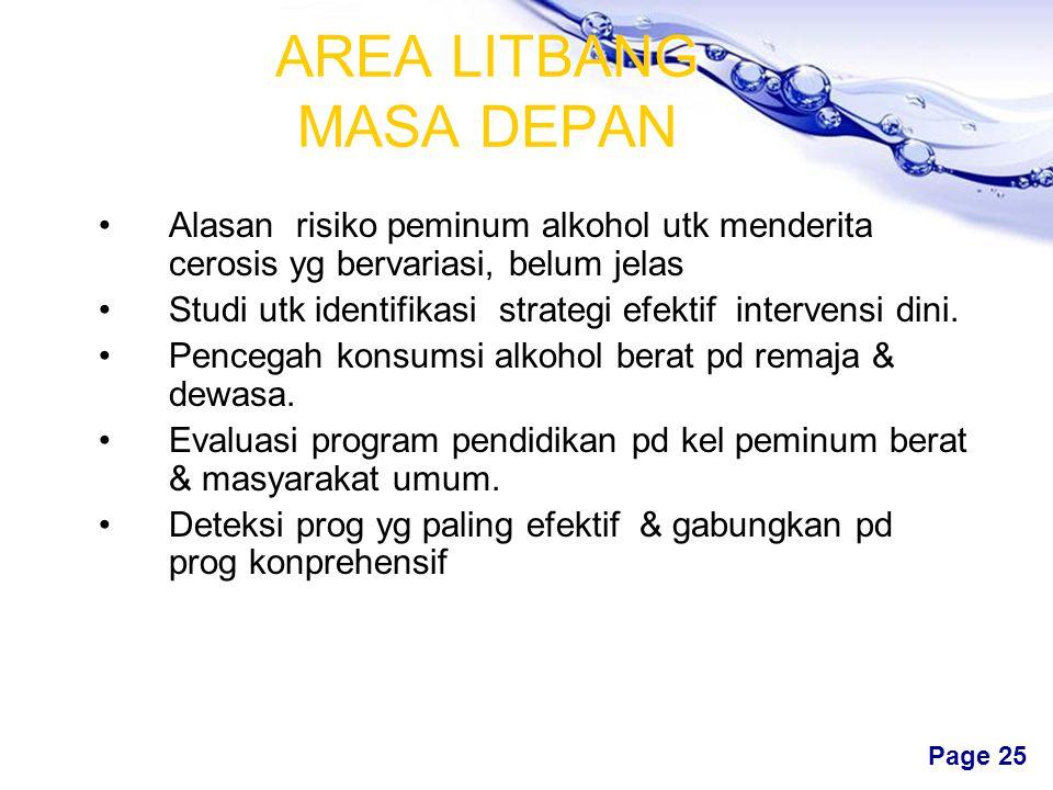 AREA LITBANG MASA DEPAN