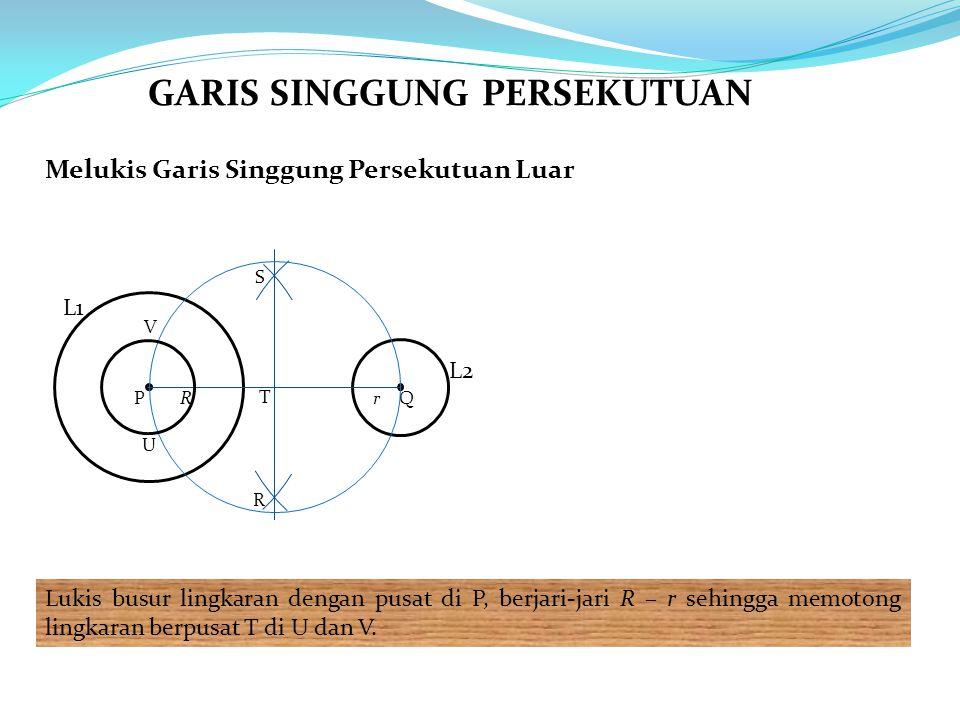 GARIS SINGGUNG PERSEKUTUAN
