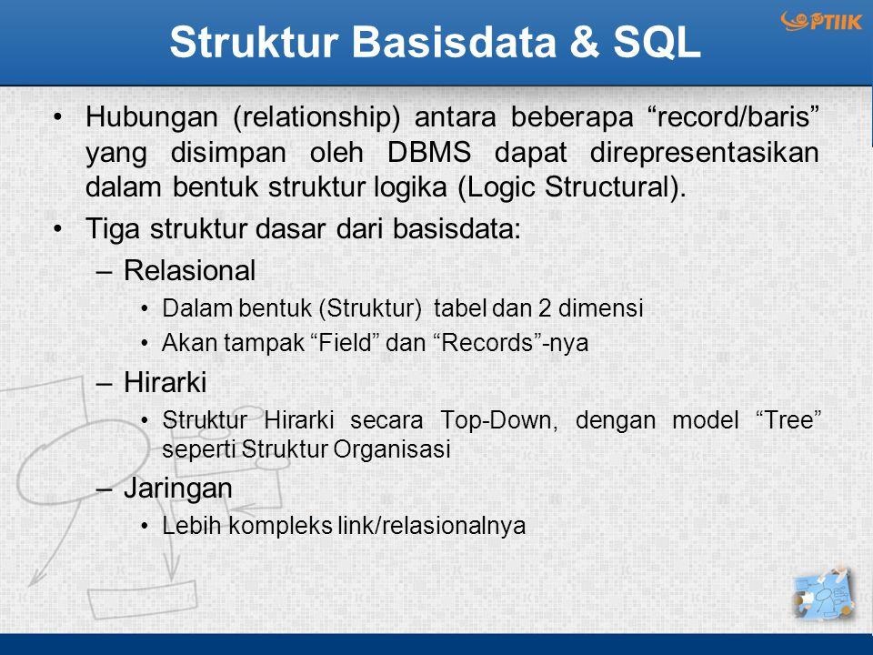 Struktur Basisdata & SQL
