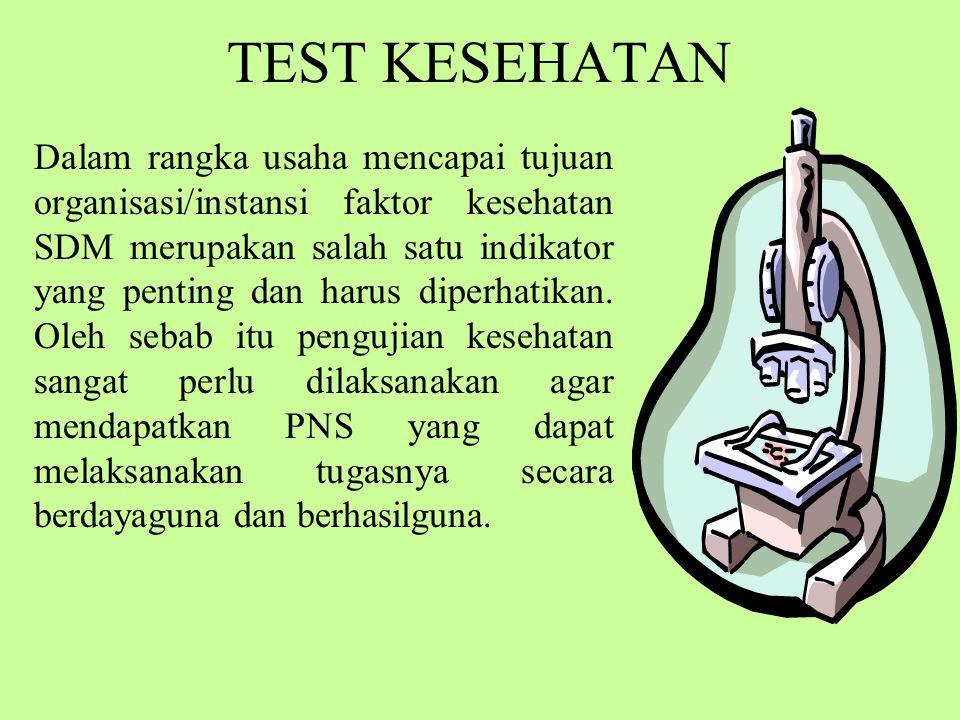 TEST KESEHATAN