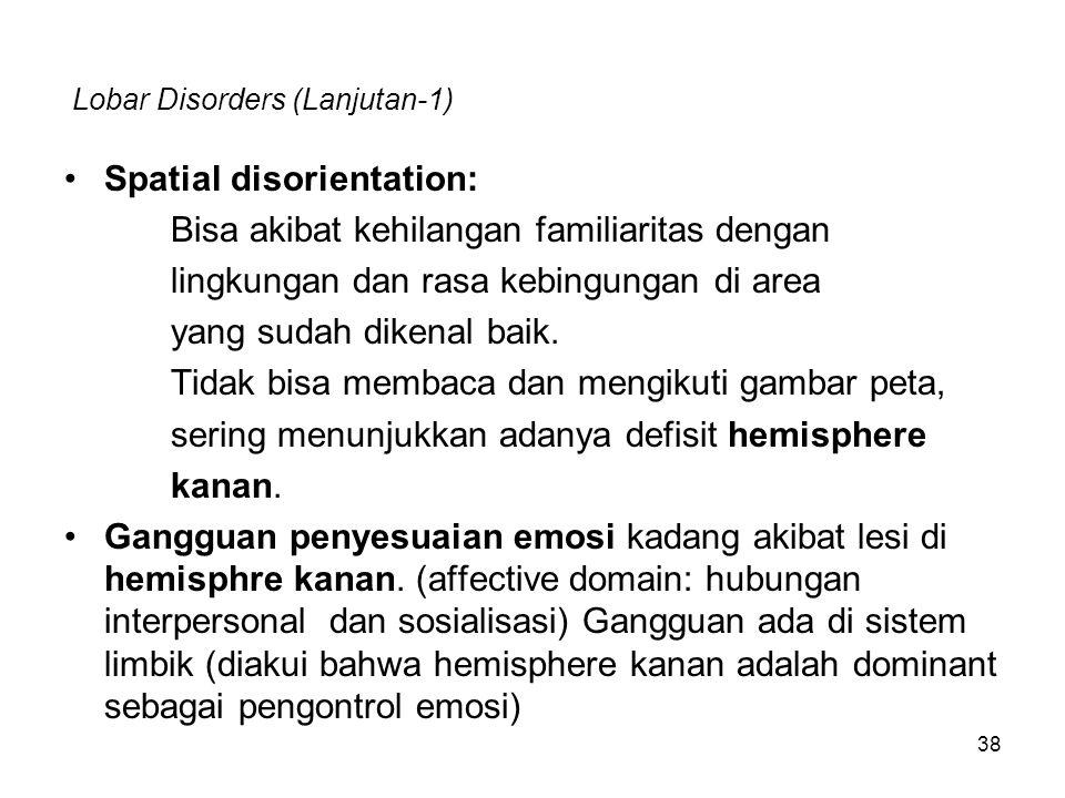 Lobar Disorders (Lanjutan-1)